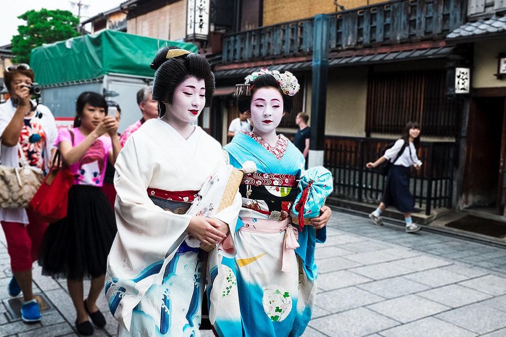 Image result for geisha kyoto