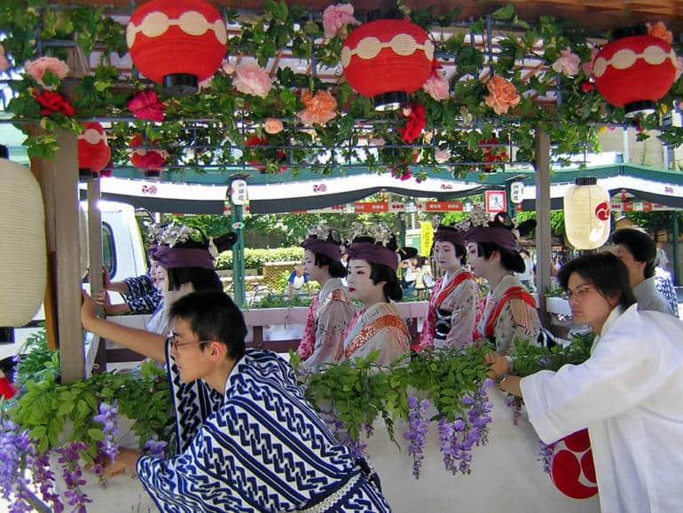 Gion Festival Geisha