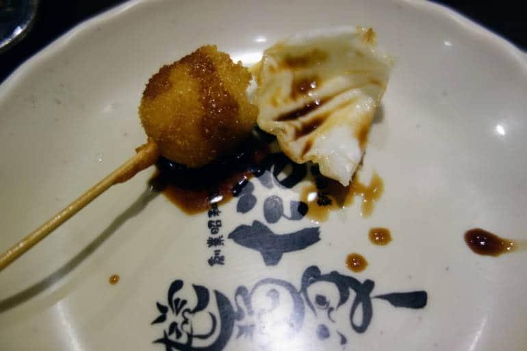 Kushikatsu Daruma Cabbage