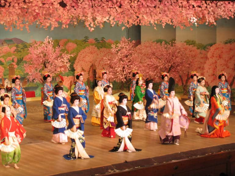 Kyoto Odori performance