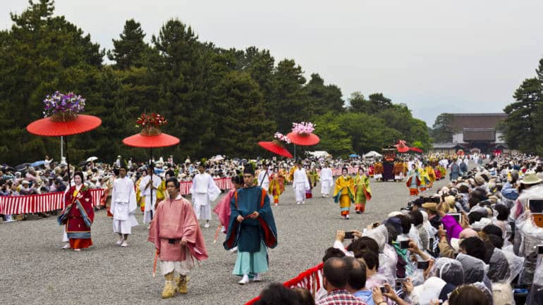 japan events may Aoi Festival Kyoto