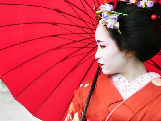 Maiko used for Kamogawa Odori Image