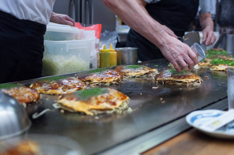 How Okonomiyaki is Prepared