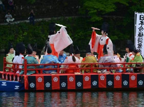 Mifune Festival Kyoto