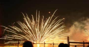 best firework festivals in japan