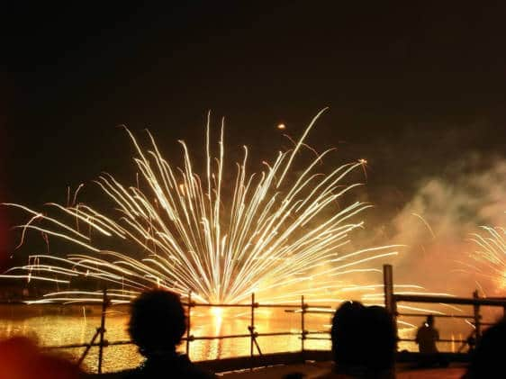 best firework festivals in japan