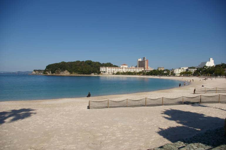 Shirahama Beach, Wakayama