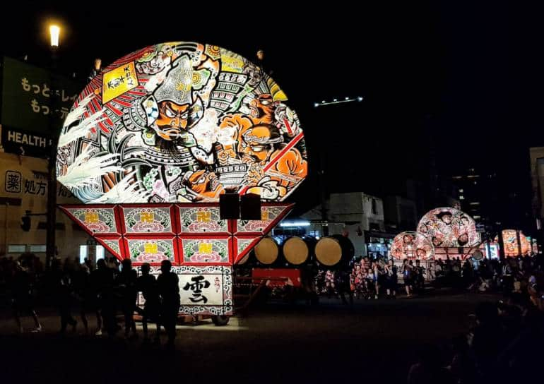 Visit the Nebuta Festival in Aomori with the JR East Pass