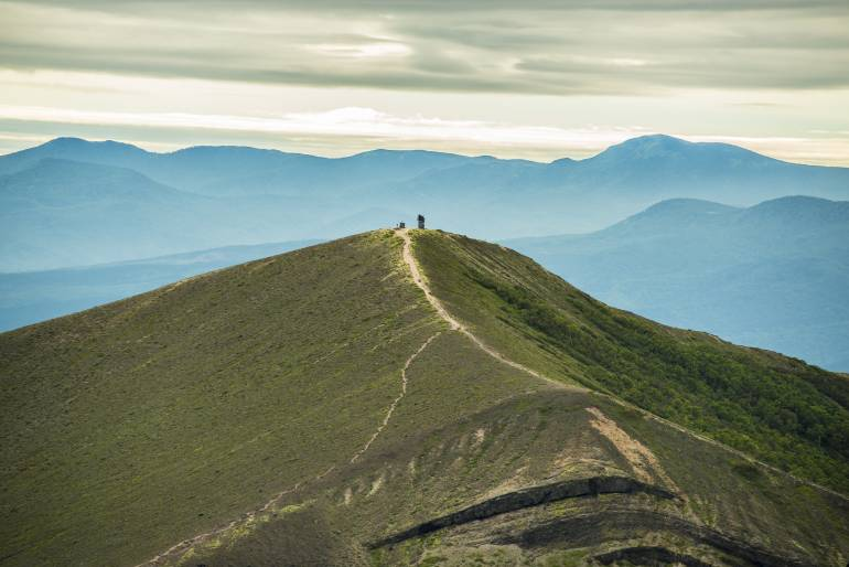 Mt. Tarumae hiking in Hokkaido