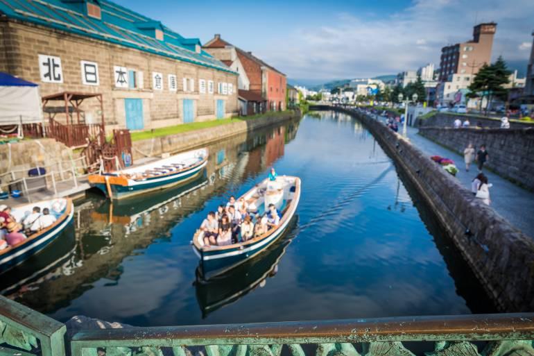 Otaru Canal summertime
