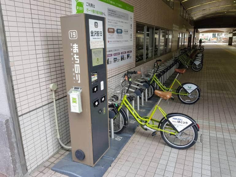 get around kanazawa