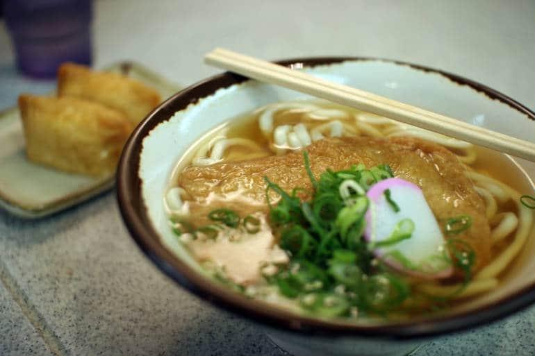 Japanese soup noodles