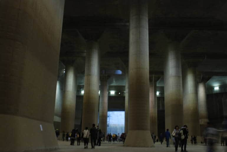 The Metropolitan Area Outer Underground Discharge Channel in Saitaama