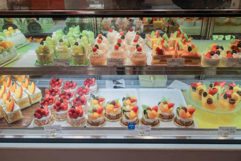 depachika sweets counter japan underground
