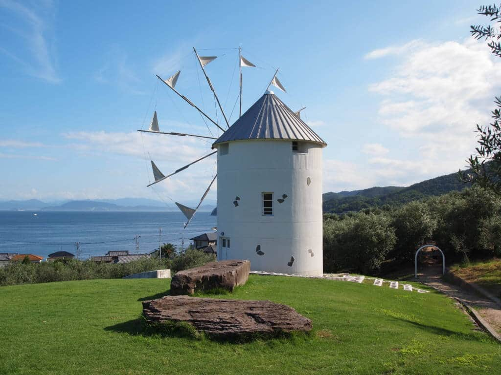 Windmill at Shodoshima's Olive Park