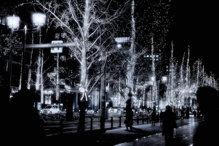 midosuji illuminations