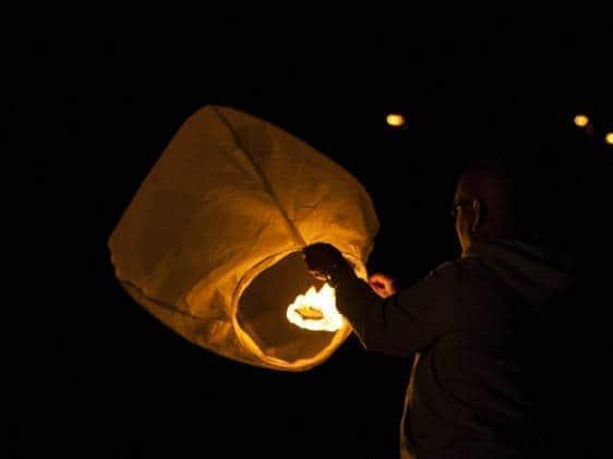 Lantern paper balloon Festival