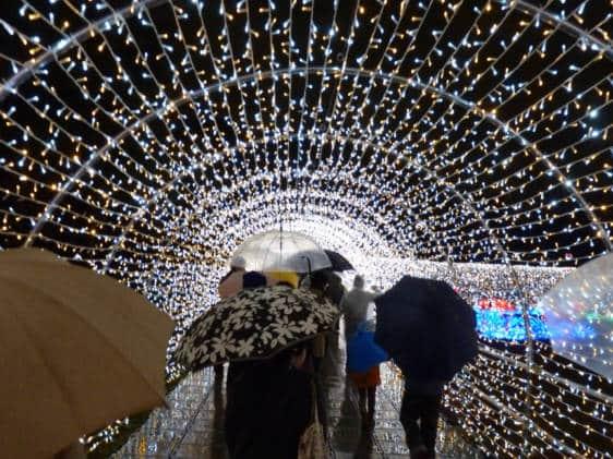 Osaka Castle Illuminage Illluminations