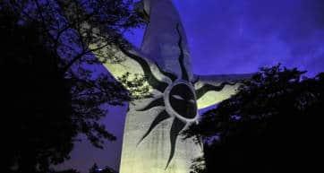 Osaka Expo Banpaku Park Illumination