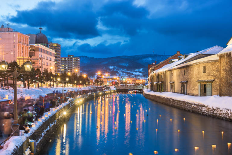 Otaru Winter Illuminations