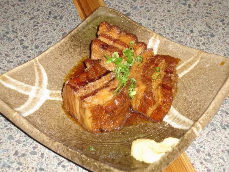 rafute okinawa cuisine