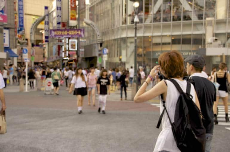 shibuya crossing japan group travel