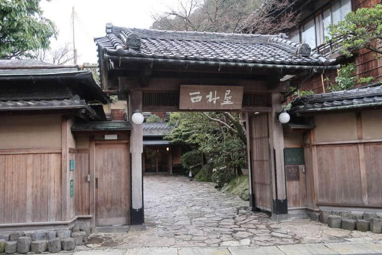 Nishimuraya Honkan in Kinosaki Onsen
