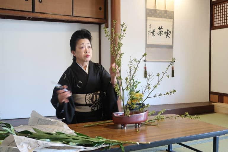 Kinosaki Onsen ikebana