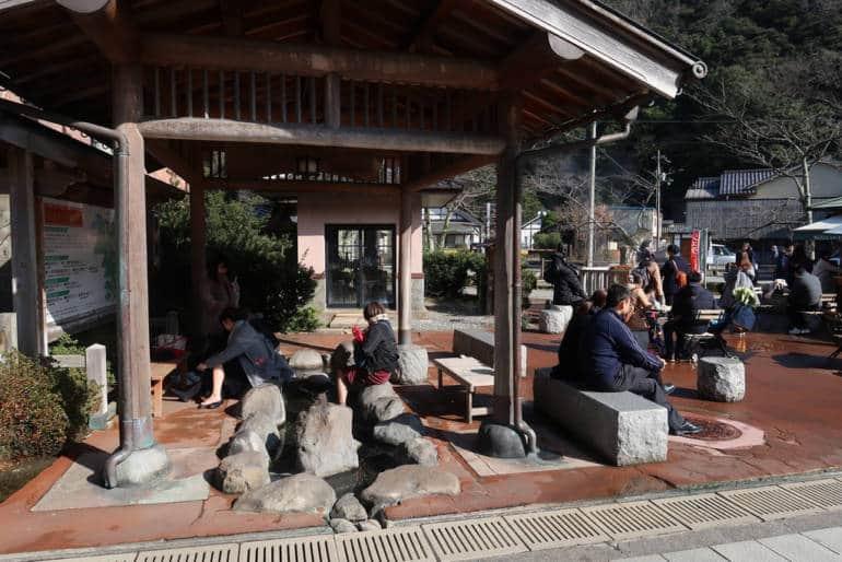 Kinosaki Onsen Foot Bath
