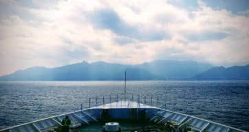 Boat to Yakushima