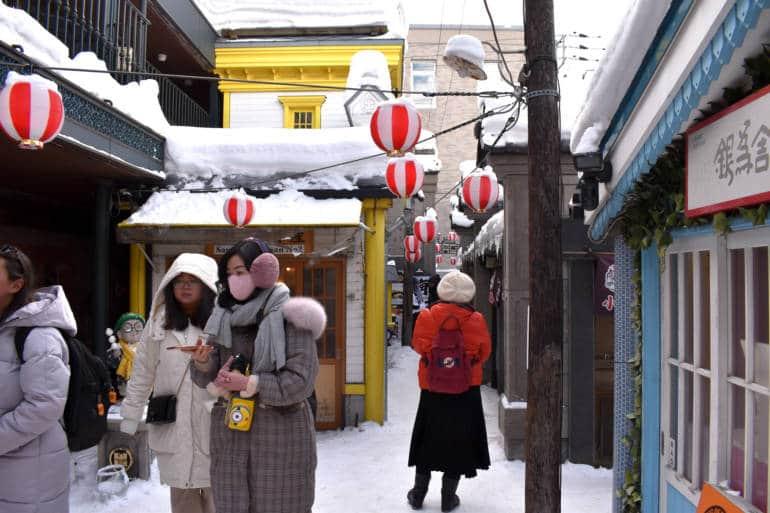 Otaru Hokkaido main street