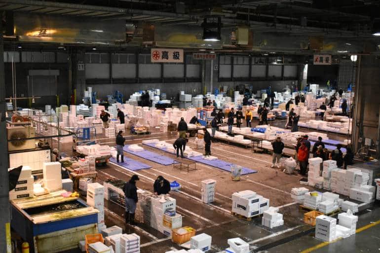 Sapporo Central Wholesale Market Sapporo Hokkaido Japan