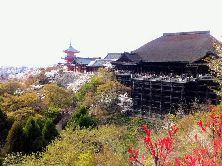 view of kiyomizudera