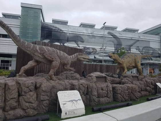 Fukui City dinosaurs museum