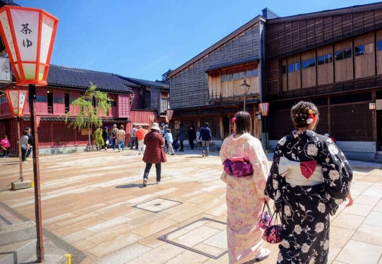Higashi Chaya District Kanazawa, Chubu region