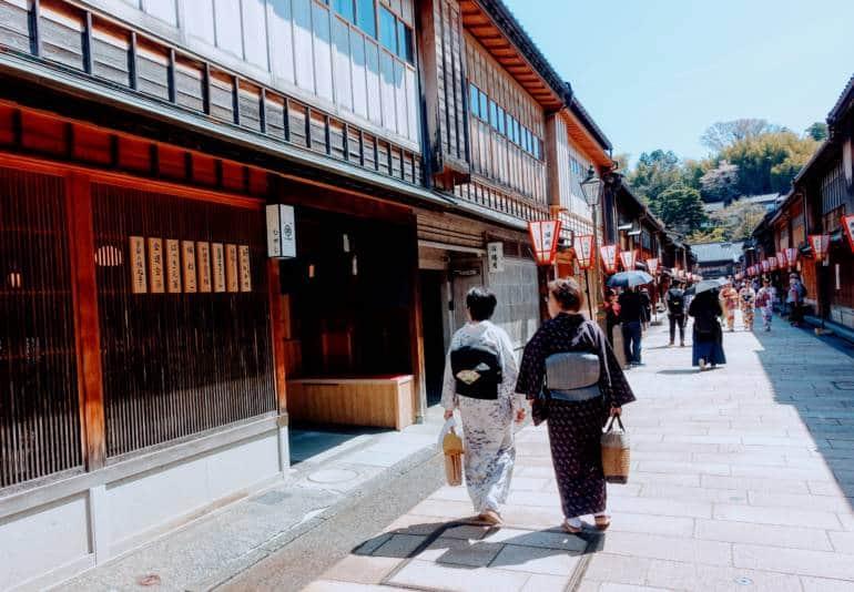 Higashiyama Chaya District Kanazawa