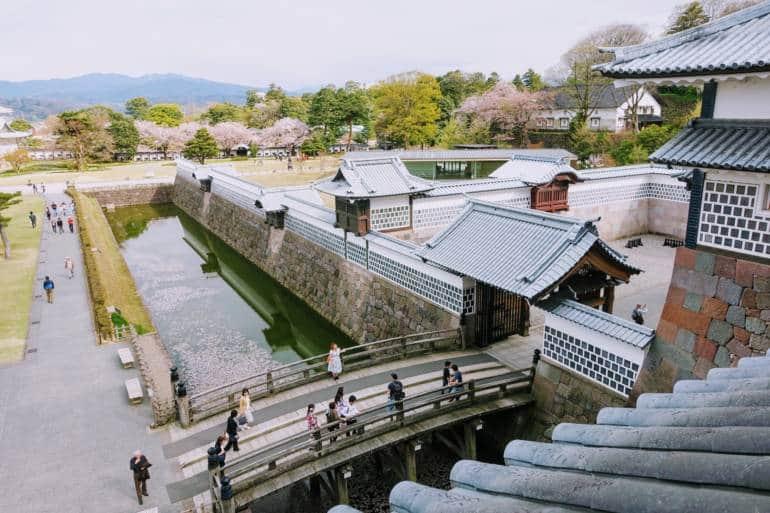 Kanazawa Castle and grounds