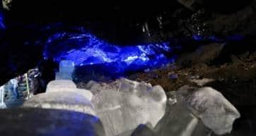 Narusawa Hyoketsu Ice Cave Yamanashi