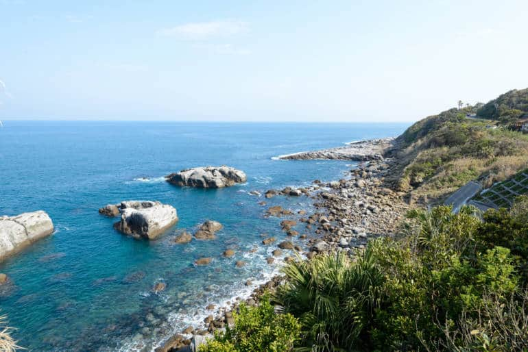 Ocean View in Yakushima