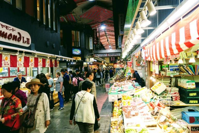 Omicho Market Kanazawa
