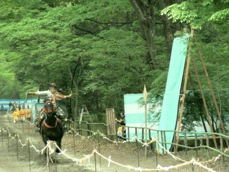 Yabusame shinji Kyoto