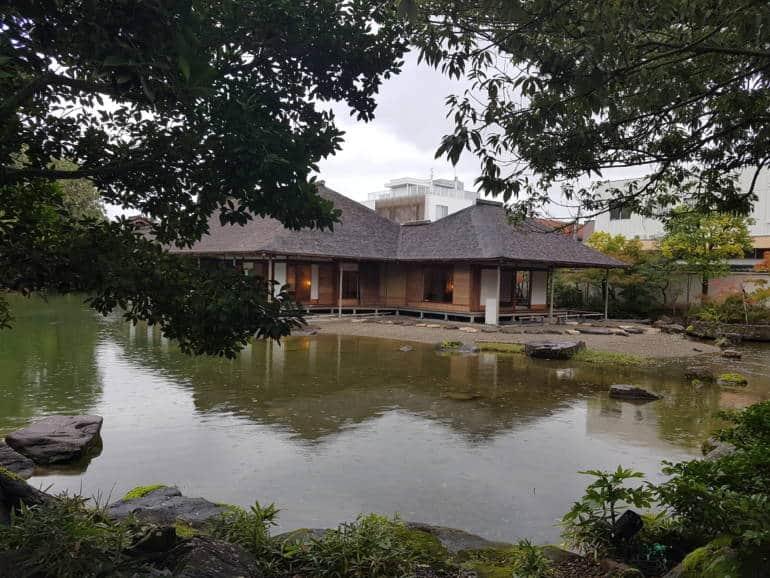 Yokokan garden fukui city japan