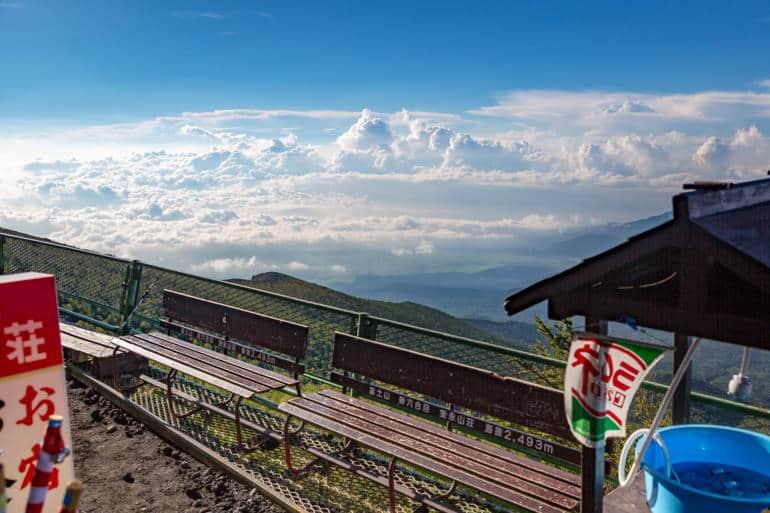 sea to summit mount fuji trail japan