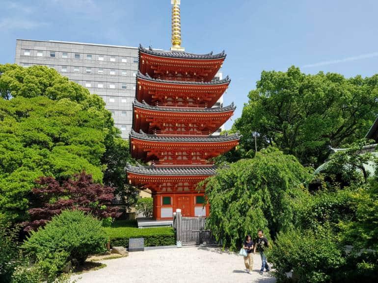 Tochoji pagoda