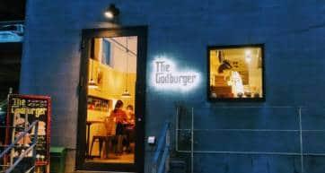 God Burger Kanazawa outside