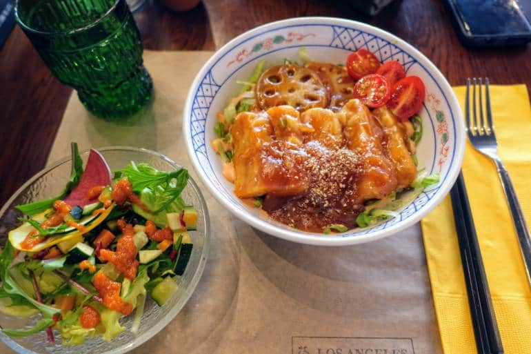 Los Angeles Vegan vegetarian restaurants Kanazawa