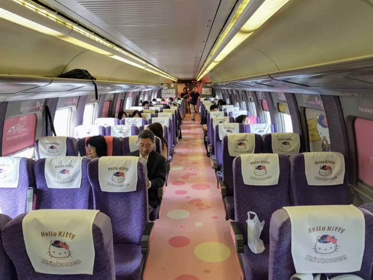 Hello Kitty Carriage Interior