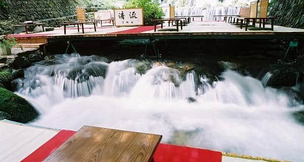 Kibune River Terrace Dinner Plan in Kyoto