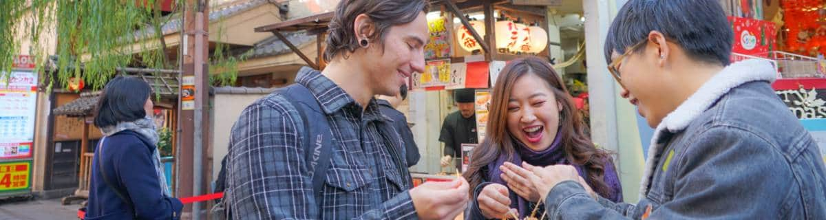 Osaka Local Foodie Tour in Dotonbori and Shinsekai by Magical Trip