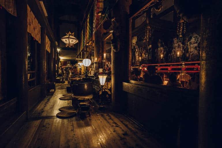 Kiyomizudera Inner Sanctum